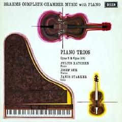 Brahms - Piano Trios No 1 & 3