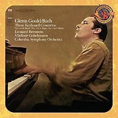 Bach - Three Keyboard Concertos CD 1 - Leonard Bernstein, Columbia Symphony Orchestra, Glenn Gould