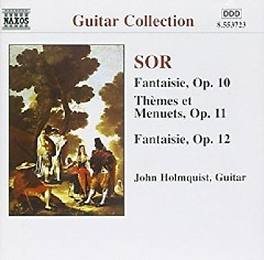 Sor - Guitar Music Op. 10 - 12 Complete Guitar Music 8 (No. 2) - John Holmquist