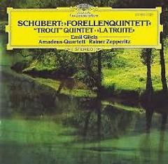 Schubert -  Forellenquintett - Emil Gilels, Amadeus Quartett