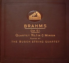 Brahms - String Quartet In C Minor