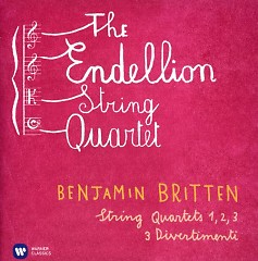 Britten - String Quartets Nos 1, 2, 3; 3 Divertimenti CD 2