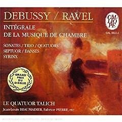 Debussy, Ravel - Intégrale De La Musique De Chambre CD 1