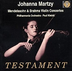 Mendelssohn & Brahms Violin Concertos