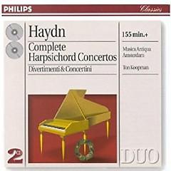 Haydn - Complete Harpsichord Concertos, Divertimenti & Concertini CD 1