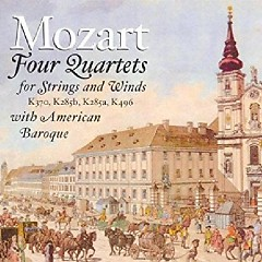 Mozart Four Quartets For Strings And Winds