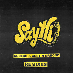 Say Hi Remixes (Single) - Codeko, Austin Mahone
