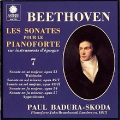 Beethoven - Les Sonates Pour Le Pianoforte Sur Instruments D'epoque CD 7