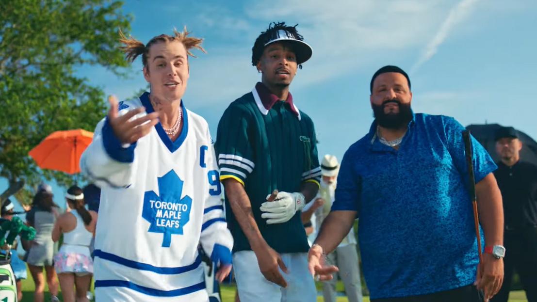 LET IT GO - DJ Khaled, Justin Bieber, 21 Savage